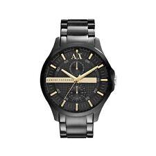 Armani Exchange AX2121 Men's Black Stainless Steel Black Dial Quartz Watch