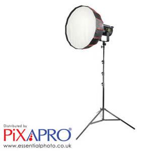 LED Video Light with 65cm Rice Bowl Softbox & Light Stand Bluetooth GODOX UL-60