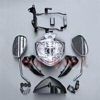 Ensemble de phare avant pour moto ajusté pour YAMAHA FZ6 2007-2010 08 09