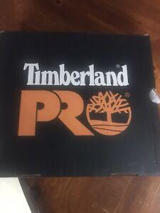 Timberland PRO 6-inch Women's,Wheat,Slip Resistant,waterproof, Steel Toe -size 8