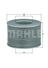 Luftfilter - Mahle LX 1140