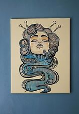 Goddess Fantasy Tattoo Art Canvas By Dressekie 2017 Acrylic Painting Modern