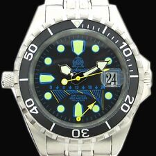 XL-Retrograde GMT 60ATM  HELIUM-SAFE-Ventil Sahlband T173