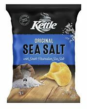 Kettle Natural Sea Salt Potato Chips, 90 Grams x 12