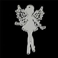 Fairy Design Metal Cutting Dies For DIY Scrapbooking Album Paper Cards##