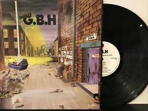 Charged G.B.H – City Baby Attacked By Rats LP 1982 Clay Records - CLAY LP 4 VG+