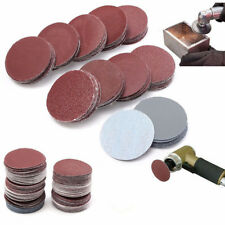 """100pcs 2"""" 50mm Mixed Sanding Disc Sander Pad for Polishing Cleaning 80-3000 Grit"""