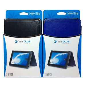 MarBlue SlimTech Hands Free Viewing Folio Case For Amazon Kindle Fire HD 6