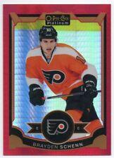 2015-16 O-Pee-Chee Platinum Red Prism 56 Brayden Schenn /149 Philadelphia Flyers