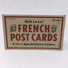 French Paper Company Promotional Postcards by Csa Design