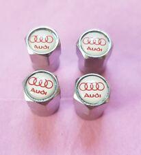 Audi Chrome Dust Caps A1 A3 A4 A5 A7 Q3 Q5 Q7 TT Convertible SQ5 SQ7 S Line #3