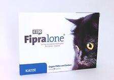 FIPRALONE Fiproline 50 mg Solution au sein Goutte à goutte Chats vét. 4 pièces