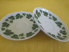 "Hutschenreuther Weinlaub SET OF TWO - COFFEE SAUCER  ""have more items to set*"