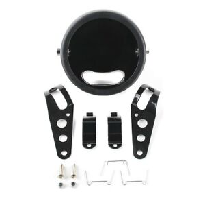 """Alloggiamento per Faro LED SG 5,75"""" per Yamaha XSR 900 / 700 nero"""