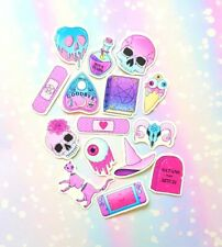 35 Pack Paper Pastel Goth Stickers SET 8