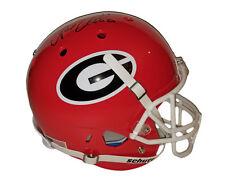 6f3d46c22 Nick Chubb Autographed Georgia Bulldogs FS Schutt Helmet Beckett Witness COA