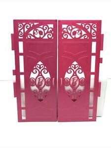 2013 Mattel Barbie Dreamhouse #X7949 Barbie Doll Dollhouse Front Doors Only
