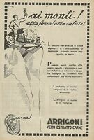 Y0522 ARRIGONI vero estratto di carne - Illustrazione - Pubblicità d'epoca - Adv