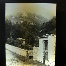 Italy Madonna Del Soccorso Como Antique Magic Lantern Glass Slide Photo