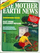 1984 Mother Earth News Magazine #88: Design a Permaculture Homestead/Appliance