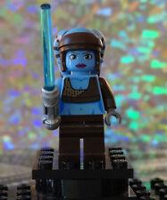 Lego Star Wars Clone Wars Aayla Secura Minifig SW284 Turbo Tank 8098 Authentic 1