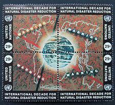 NATIONS-UNIS (New-York) timbre/stamp Yvert et Tellier n°659 à 662 x4 n**(Cyn14)