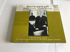 Rachmaninov - Complete Piano Concertos No 1; Paganini Rhapsody MINT/EX 2 CD