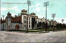 Ohio Penitentiary Columbus Ohio Postcard
