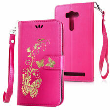 For Sony AG 8 Hybrid Rubber Card Pouch Wallet Leather Flip KickStand Skin Cover