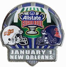 Official 2016 Allstate Sugar Bowl Pin Ole Miss Rebels vs Oklahoma State Cowboys