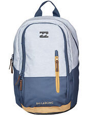 Billabong Shadow  Mens Backpack in Grey Heather & Navy