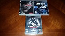 Sony PS3 Lot Of 3 Games Metal Gear Solid 4 & More, PS3!