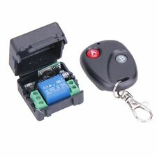 12V 7A Transmitter 1 Channel Wireless Remote Control Switch 433MHz with Receiver