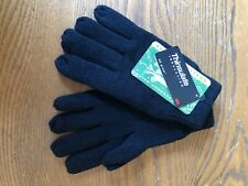JACK PYKE MENS GLOVES 100% ACRYLIC WITH THINSULATE LINING - BLACK - BNWT