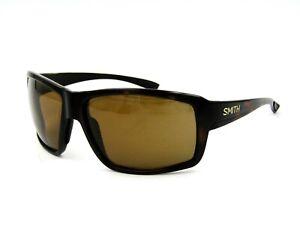 Smith COLSON Polarized Sunglasses, Matte Tortoise / Chromapop Brown. 63mm #27I