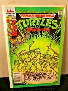 TMNT 3 ARCHIE Teenage Mutant Ninja Turtles SIGNED AUTOGRAPHED Kevin Eastman ~