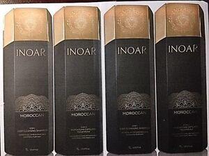 Inoar Brazilian Keratin Moroccan Blowout .2 Kits.4 bottles,34oz each/liters.!!!