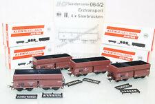 M+D H0 064/2 Erzwagen-Set 4tlg. der DRG Sonderserie neuwertig in OVP GL3123