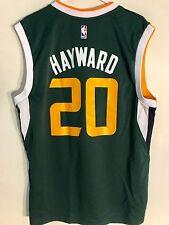 Adidas NBA Jersey Utah Jazz Gordon Hayward Green Alt sz L