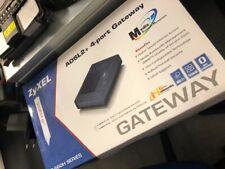 zyxel ADSL+2 4 port gatway