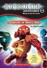 Bionicle Movie Adventures Legends of Metru Nui Scholastic 2004 By Greg Farshtey
