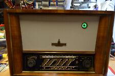 Röhrenradio RFT Zwinger 6, DDR 50er J., Gehäuse und Front restauriert Top Deko