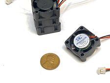 4 Pieces 5v fan 2510 small 2 pin computer GDStime 25mm x 10mm mini  B9