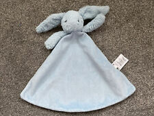MOTHERCARE Blue BUNNY COMFORTER SOOTHER BABY SOFT TOY RETIRED Mc532sh Rabbit
