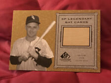 2001 Sp Legendary Cuts Nellie Fox Game Used Bat Card #B-Nf - Chicago White Sox