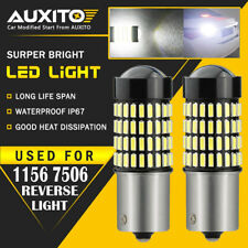 2X AUXITO 1156 7506 High Power LED Reverse Back Up Light Bulbs 6000K 2800LM EOA