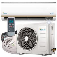 12000 BTU Mini Split Air Conditioner with Heat Pump Remote and Installation Kit