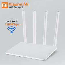 Original XiaoMi Router 3 128G ROM Processor MT7620A WiFi Wireless 2.4GHZ/5GHZ