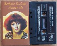 BARBARA DICKSON - ANSWER ME (RSO SPEMC5) 1976 UK CASSETTE TAPE EXCELLENT COND!
