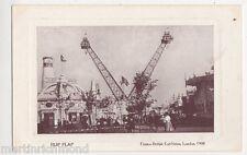 Franco British Exhibition, Flip Flap Postcard, B432